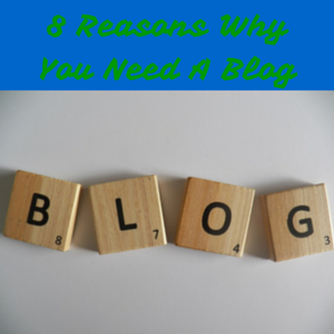 8 reasons why you need a blog pic
