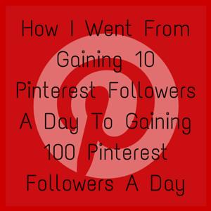 Get More Pinterest Followers