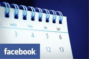 facebook calendar