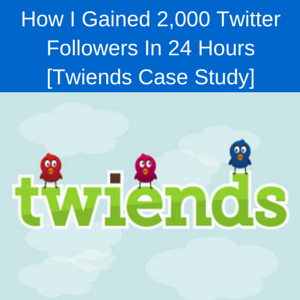 Twiends Case Study