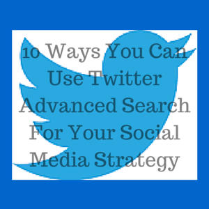 Twitter Advanced Search For Business