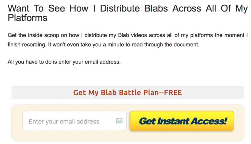 Blab Content Upgrade