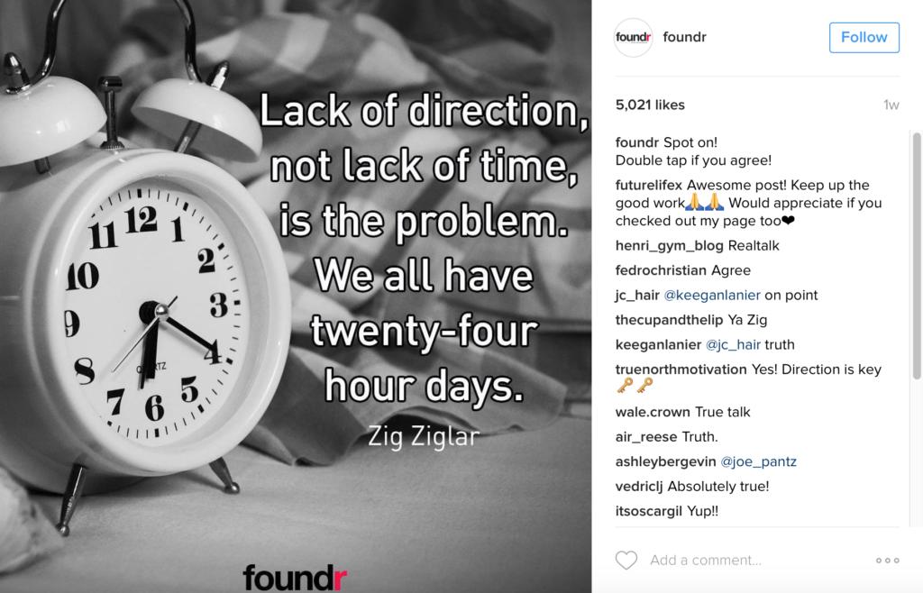 foundr instagram